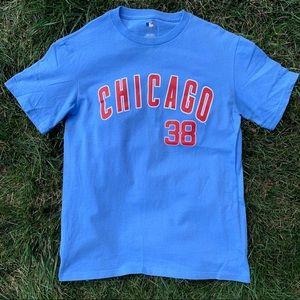 Chicago Cubs Carlos Zambrano #38 Jersey T-Shirt